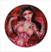 Sukanya 2 | Painting by artist Vishal Sabley | acrylic | Canvas