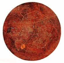 WOODEN VISCOSITY 4 | Painting by artist Murali  Chinnasami | acrylic | Wood