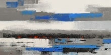 Landscape 2 | Painting by artist Reba Mandal | acrylic | Canvas