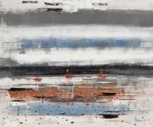 Landscape 3   Painting by artist Reba Mandal   acrylic   Canvas
