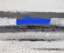Landscape 4   Painting by artist Reba Mandal   acrylic   Canvas