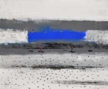 Landscape 4 | Painting by artist Reba Mandal | acrylic | Canvas