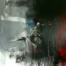 Space 31 | Painting by artist Gulrez Ali | acrylic | Canvas
