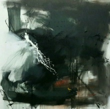 Space 12 | Painting by artist Gulrez Ali | acrylic | Canvas