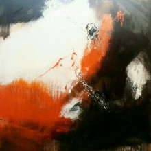 Space 35 | Painting by artist Gulrez Ali | acrylic | Canvas