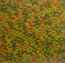Triangle 9 | Painting by artist Nilesh Shaharkar | acrylic | canvas