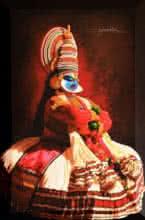 Figurative Acrylic Art Painting title 'Rubab 2' by artist Prashant Yampure