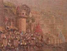 Banaras 9 | Painting by artist Yashwant Shirwadkar | oil | Canvas