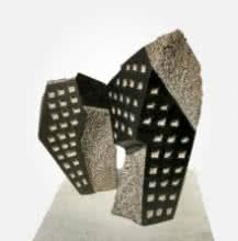 Window 4 | Sculpture by artist Yogesh Lokhande | Stone