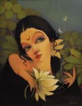 art, beauty, painting, canvas, oil