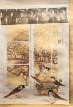 Animals Coffee & watercolor Art Painting title Untitled 2 by artist Fawad Tamkanat