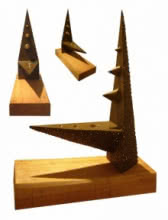 Bronze Sculpture titled 'Friction' by artist Sukanta Chowdhury