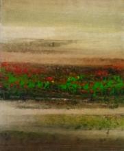 Abstract Oil Art Painting title Untitled 15 by artist Vipta Kapadia