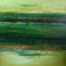 Abstract Oil Art Painting title Untitled 21 by artist Vipta Kapadia