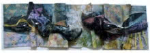 Balu Chaudhari | Untitled 3 Mixed media by artist Balu Chaudhari on Acrylic Sheet | ArtZolo.com
