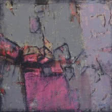 Abstract Mixed-media Art Painting title Untitled 1 by artist Anuja Paturkar