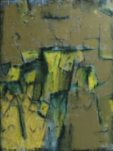 Abstract Mixed-media Art Painting title Untitled 14 by artist Anuja Paturkar