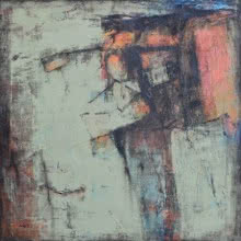 Abstract Mixed-media Art Painting title Untitled 2 by artist Anuja Paturkar
