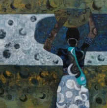 Morning Glory | Painting by artist Harshada Kolapkar | acrylic | Canvas