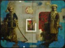 Do Yuvraj | Painting by artist Sanjib Gogoi | acrylic-oil | Canvas