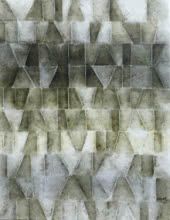 Gayatri Deshpande | Acrylic Painting title Innerscapes 33 on Canvas | Artist Gayatri Deshpande Gallery | ArtZolo.com