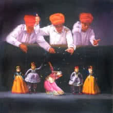 Illusion Of Life | Painting by artist Jinal Gada Gala | oil | Canvas