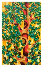 contemporary Acrylic Art Painting title 'NATURE-3' by artist Manish Dey