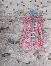 contemporary Mixed-media Art Drawing title 'Untitled 4' by artist Avijit Mukherjee