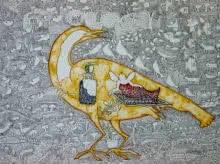 contemporary Mixed-media Art Drawing title 'Untitled 7' by artist Avijit Mukherjee