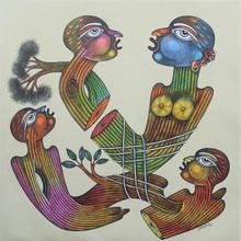 Figurative Oil Art Painting title Untitled 4 by artist Navneet Rathod