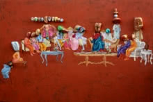 Untitled 6 | Painting by artist Pragnesh Patel | mixed-media | Canvas