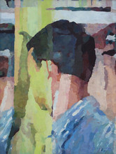 Figurative Oil Art Painting title Within 4 by artist Sameer Gorde
