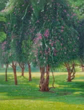 Blooming Beauty | Painting by artist Gopal Nandurkar | oil | Canvas