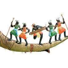 Tribal Dance On Trumpet II | Craft by artist Handicrafts | Wrought Iron