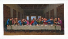 Religious Oil Art Painting title Last Supper- Recreation by artist Biju Thomas