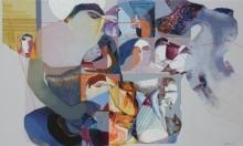 contemporary Acrylic Art Painting title Swayvedan 111 by artist Lakshman Chavan