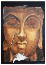 The Face Ii | Painting by artist Manoj Muneshwar | oil | Canvas