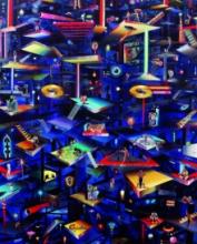 Bhagyanath C | Acrylic-oil Painting title In Limbo on Canvas | Artist Bhagyanath C Gallery | ArtZolo.com