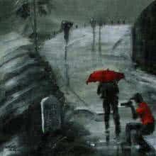 Mopasang Valath | Acrylic Painting title Rain Click II on Canvas | Artist Mopasang Valath Gallery | ArtZolo.com