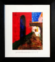 Abstract Acrylic Art Painting title Untitled 18 by artist AnndBedrala Bangalore