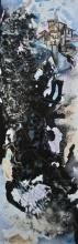Cityscape 2 | Painting by artist Shuchi Khanna | mixed-media | Canvas