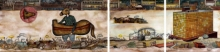 contemporary Mixed-media Art Painting title Something Broken by artist Digbijayee Khatua