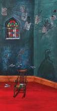 Still-life Acrylic Art Painting title Childhood Memories by artist Isha Bawiskar