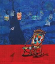 Still-life Acrylic Art Painting title My Ideol by artist Isha Bawiskar