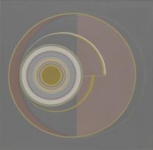 Abstract Acrylic Art Painting title Untitled 6 by artist Dhruti Mahajan