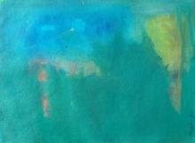Abstract Acrylic Art Painting title Appearances by artist Jayshree Savani