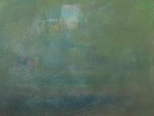 Abstract Acrylic Art Painting title 'Rising Moon' by artist Jayshree Savani