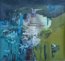 Abstract Acrylic Art Painting title Unleashed by artist Jayshree Savani