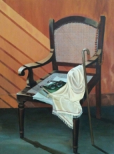 Still-life Acrylic Art Painting title 'Untitled 1' by artist Divya Chinni