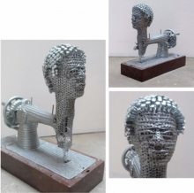 Mixedmedia Sculpture titled 'Untitled 1' by artist Artist Yusuf